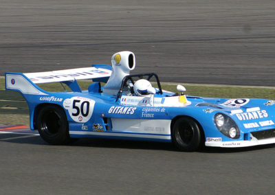 1200px Matra 670C at Silverstone Classic Endurance Car Racing in September 2009