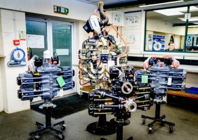 superior xp engines at nicholson mclaren