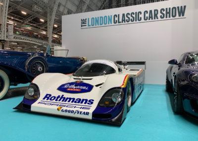 london classic car show, London Classic Car Show, Nicholson McLaren