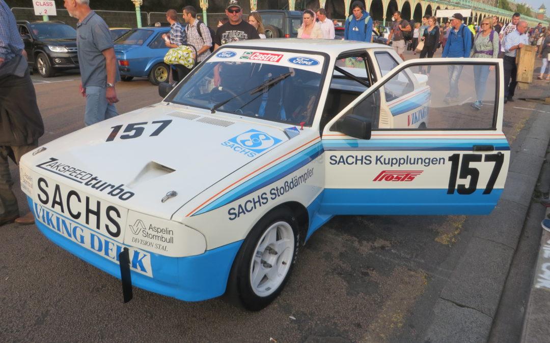 Race Retro features Martin Schanche's Escort