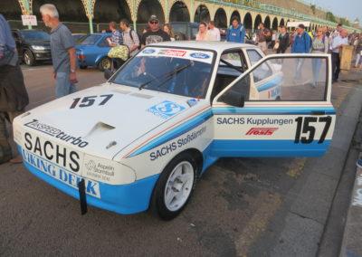 Martin Schanche, Race Retro features Martin Schanche's Escort, Nicholson McLaren