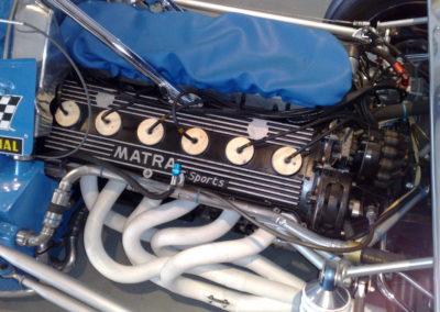 Matra MS12 engine scaled