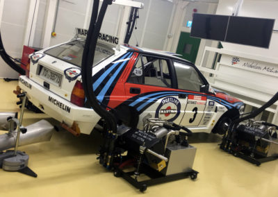 lancia rally hub dyno engine testing