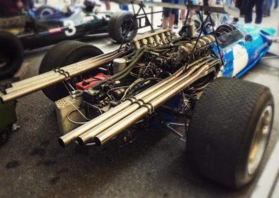 matra f1 engine exhaust