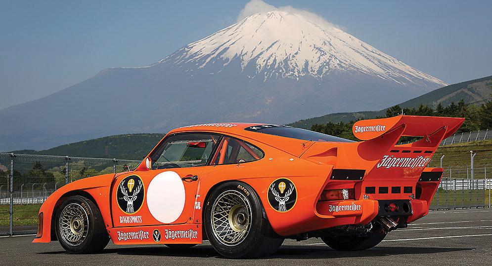 Jagermeister Porsche 935 Mt. Fuji