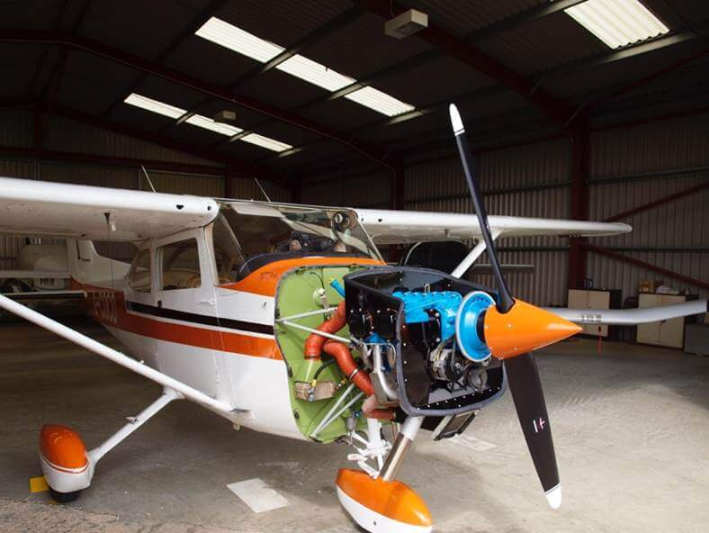 Lycoming engine overhaul for Cessna 172