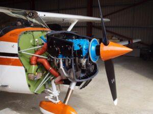 Lycoming O 320 E2D Engine 010
